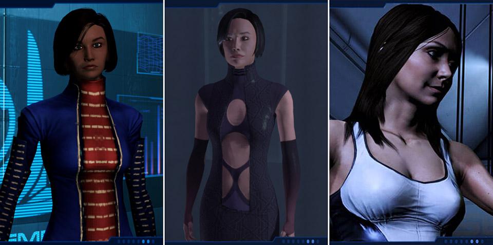 Жінки-журналістки з серії ігор Mass Effect