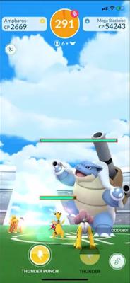 Mega Blastoise Pokémon GO