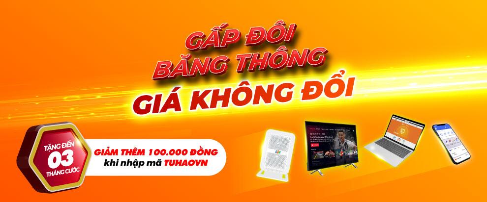 Bảng giá lắp đặt Internet FPT tại Vĩnh Long mới nhất