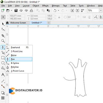 cara-membuat-pohon-literasi-digital-creator-dengan-corel-draw