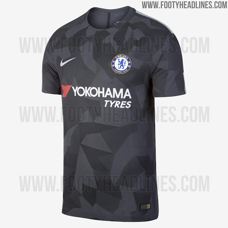 brand new 0bbcd c5748 Official: Nike Chelsea 17-18 Third Kit Released - Footy ...