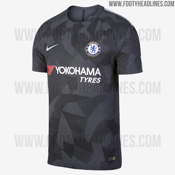 Official Nike Chelsea 17 18 Third Kit Released Footy Headlines