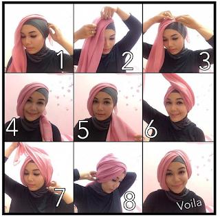 Model hijab untuk wisuda yang kelima