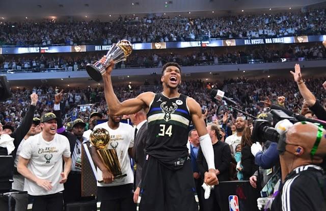 50 pontos em 50 anos: Bucks é campeão da NBA pela segunda vez