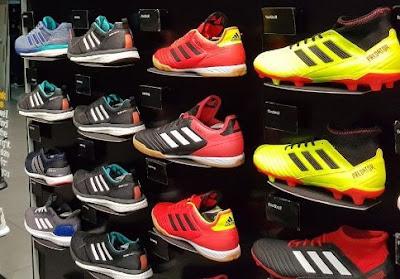 outlet sepatu branded Adidas, Nike, Reebok, Puma di Semarang