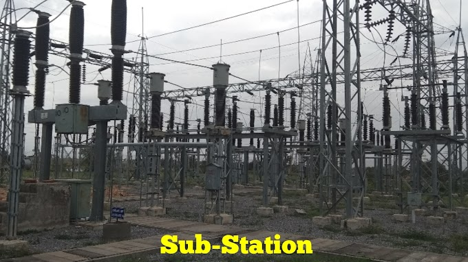 What Is A Sub-Station, Different Types Of Sub-Station, Selection Of Site For Sub-Station,