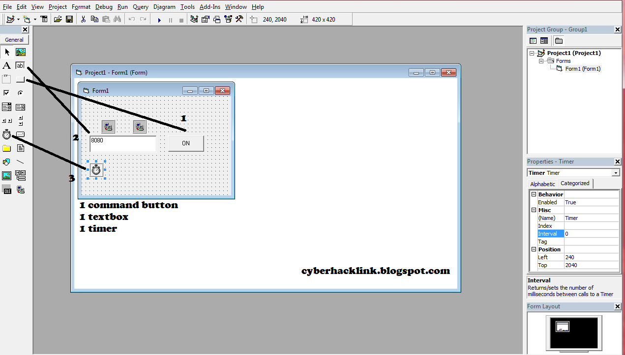 Tutorial Membuat Inject Menggunakan VB6 Lengkap Dengan Gambar