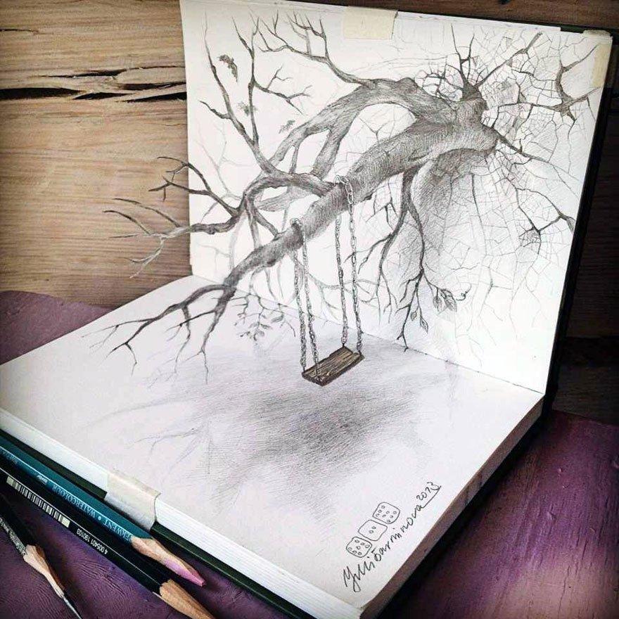 Dibujos A Lapiz 3d Cada Dia Mas Realistas Guia Dibujo