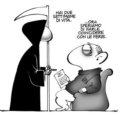 Favorito ♥: DIVERTENTI VIGNETTE SULLA MORTE - Pietro Vanessi SK78
