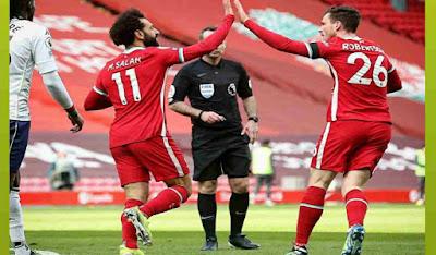 Liverpol Libas Aston Villa, Mohamed Salah: Masih Bisa Raih 4 Besar