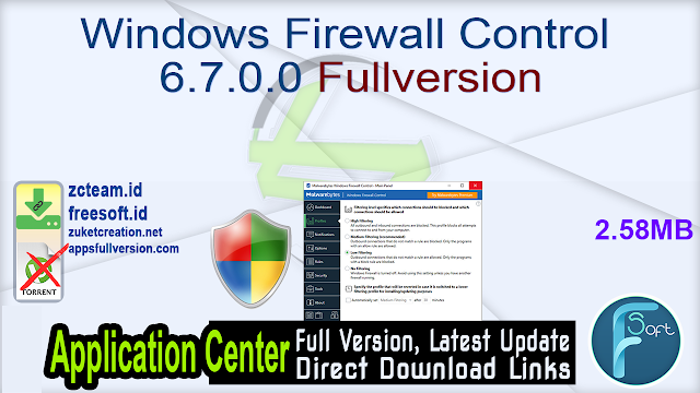 Windows Firewall Control 6.7.0.0 Fullversion