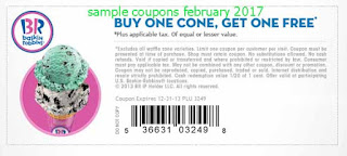 Baskin Robbins coupons february