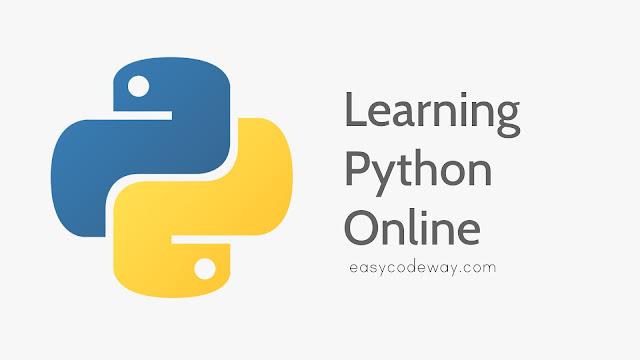 Study python programming language online