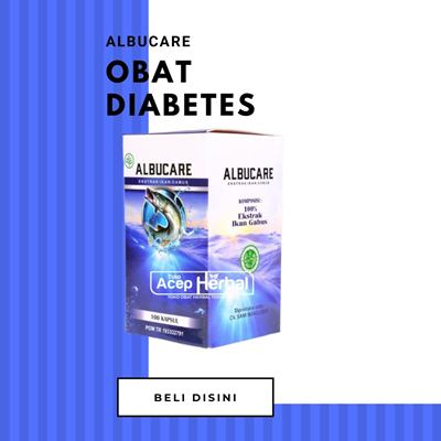 Obat Diabetes Albucare