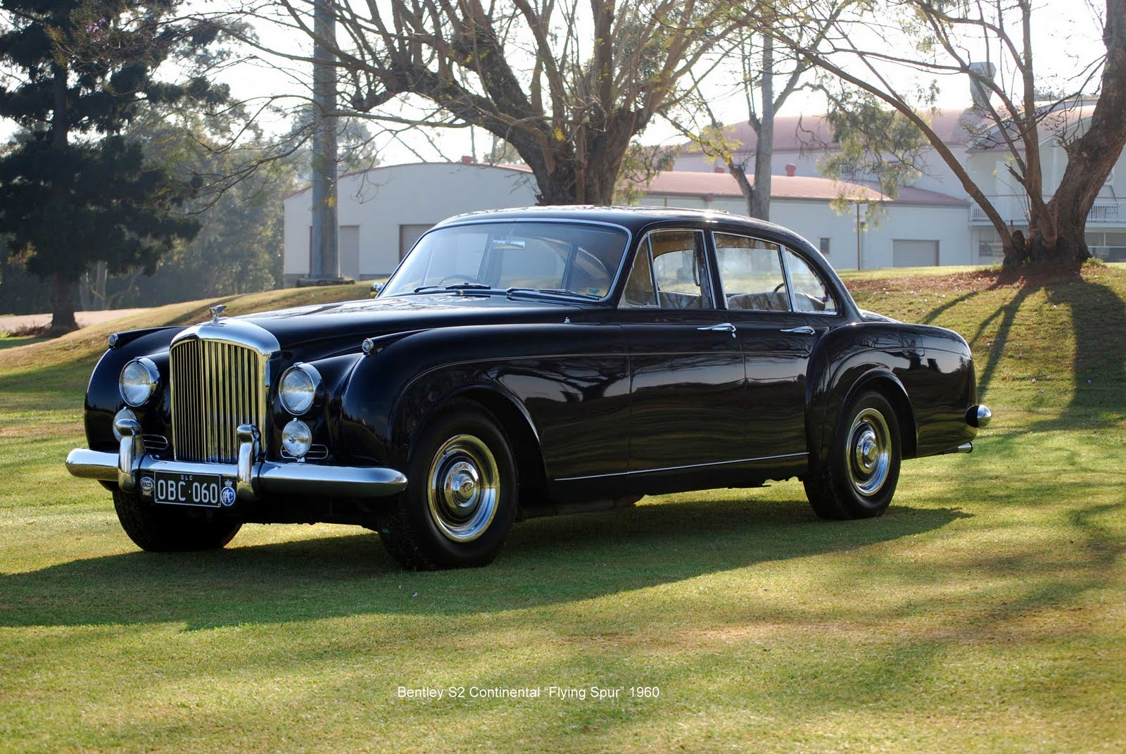 """2018 Dodge Barracuda >> Classic Car Posters: Bentley S2 Continental """"Flying Spur"""""""