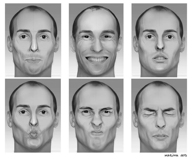 Art Facial Expressions 53