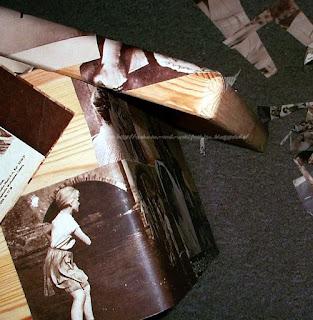 Filmprogramme Fotos für Holzkiste