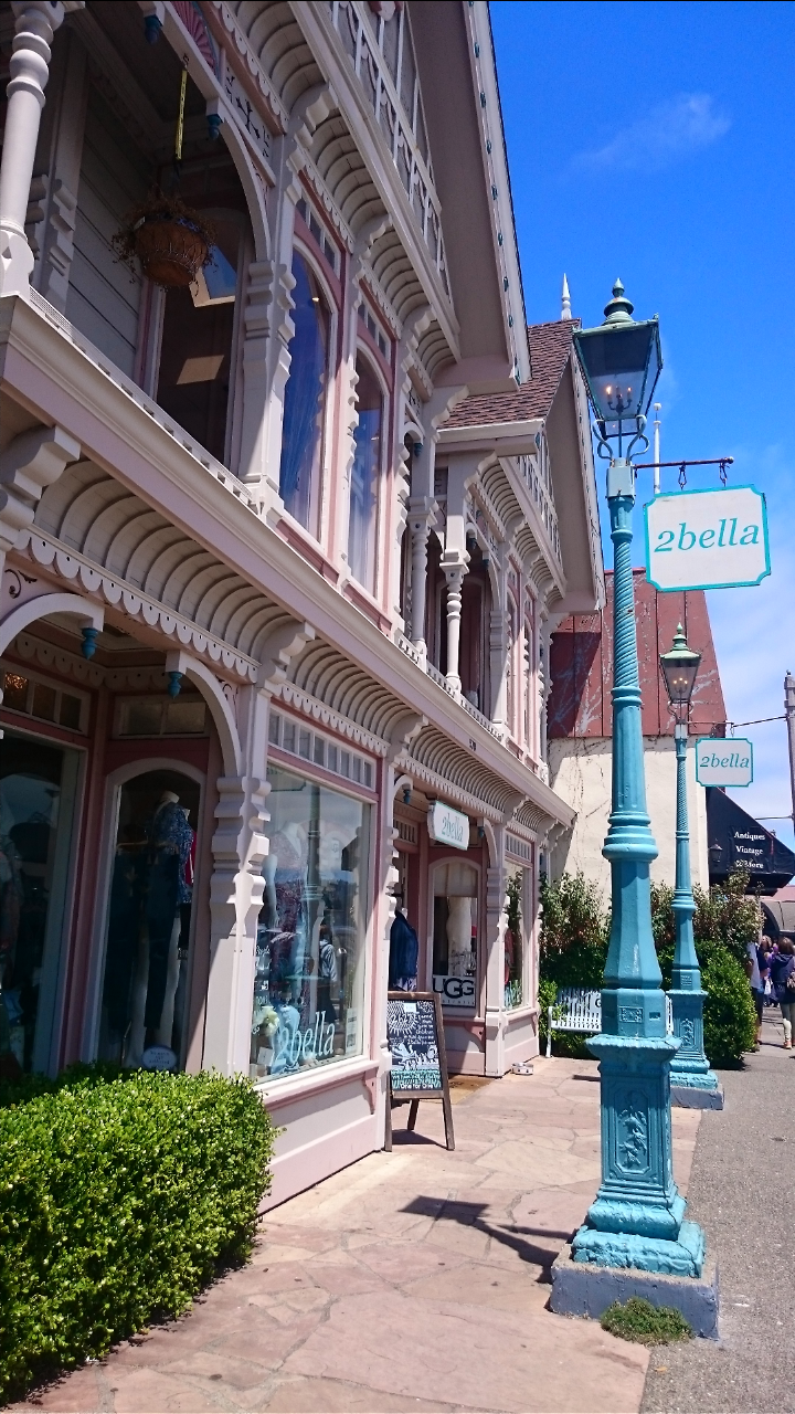 Boutique shops in Sausalito