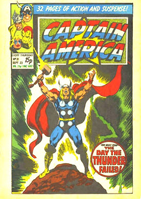 Captain America #31, Thor, the day the thunder died