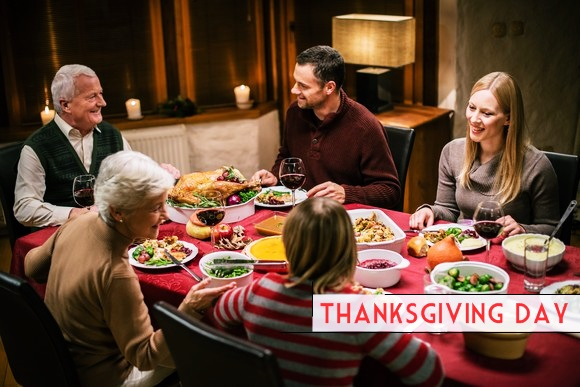thanksgiving day celebration Thanksgiving is truly a special day it was first celebrated in 1621 when the pilgrims and the wampanoag indians shared a fall harvest in 1863 president abraham lincoln proclaimed a national day of thanksgiving to be held each year in november.