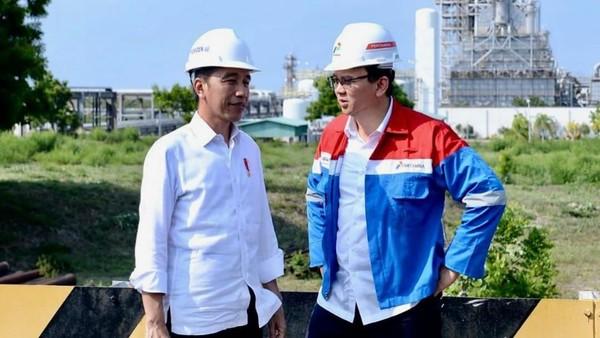 Perintah Jokowi ke Ahok soal Kilang: 3 Tahun Harus Rampung!