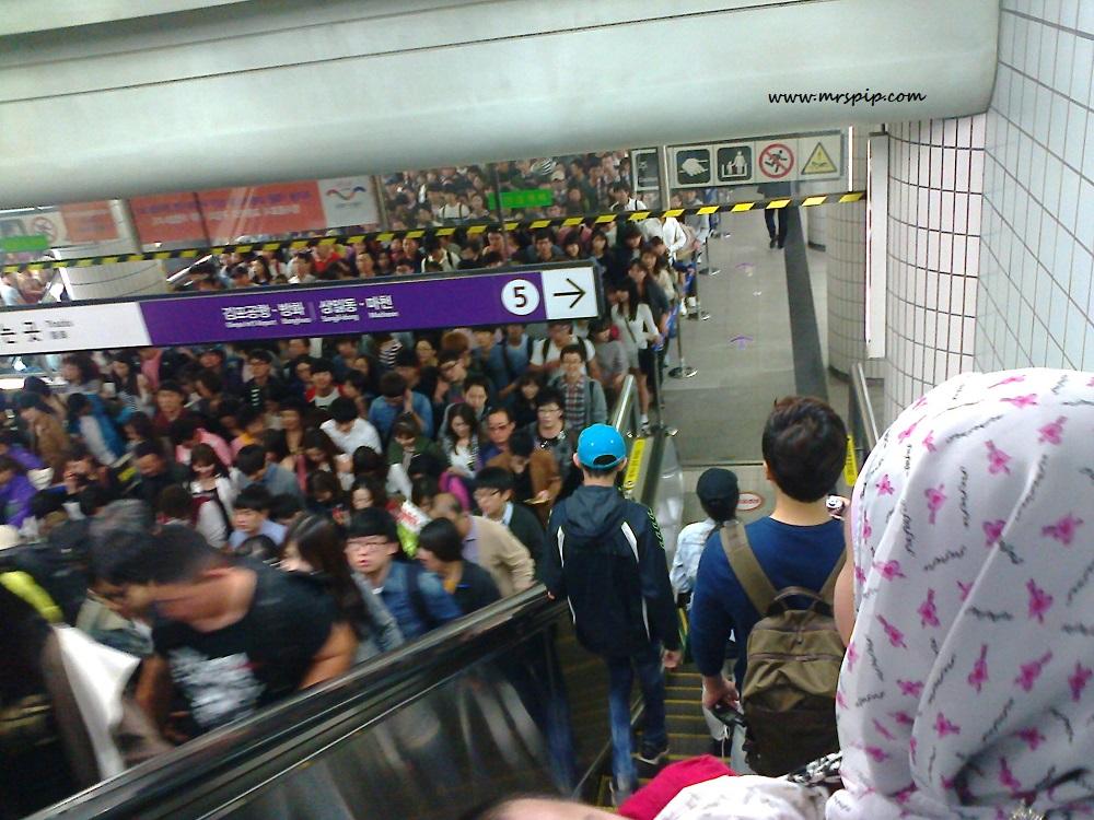 Subway Seoul Korea