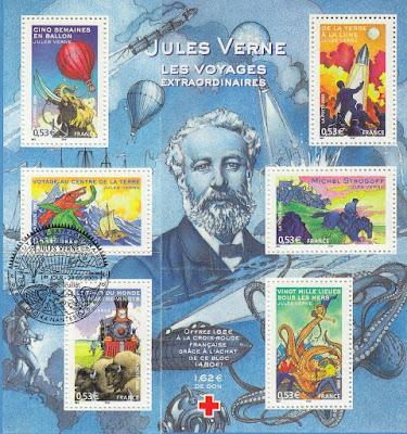 France Extraordinaries voyages of Jules Verne