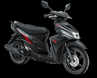 Pilihan Warna Hitam Yamaha Mio Z