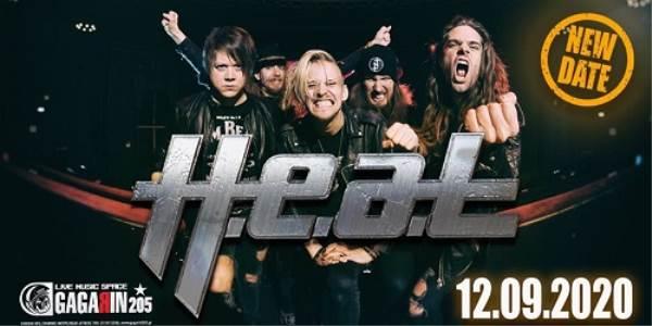 H.E.A.T.: Αλλαγή ημερομηνίας του live στην Αθήνα