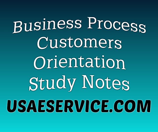 Business Process Customers Orientation Study