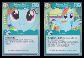 My Little Pony Rainbow Dash, Flier Extraordinaire Premiere CCG Card