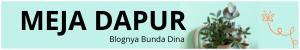 MEJA DAPUR  | Blognya Bunda Dina