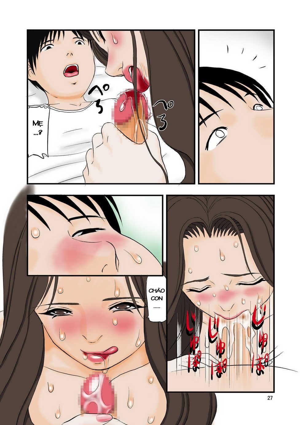 - Loạn luân Lời thỉnh cầu của con trai - Truyện Hentai