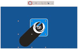 Cara Membuat Long Shadow Pada Logo Flat Design dengan CorelDRAW
