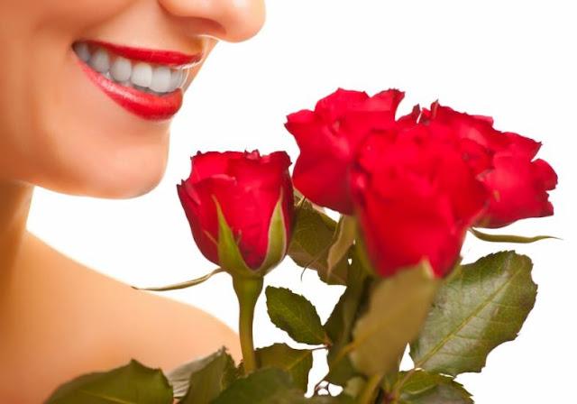 Botão de Rosas Vermelhas - Dia Internacional da Mulher