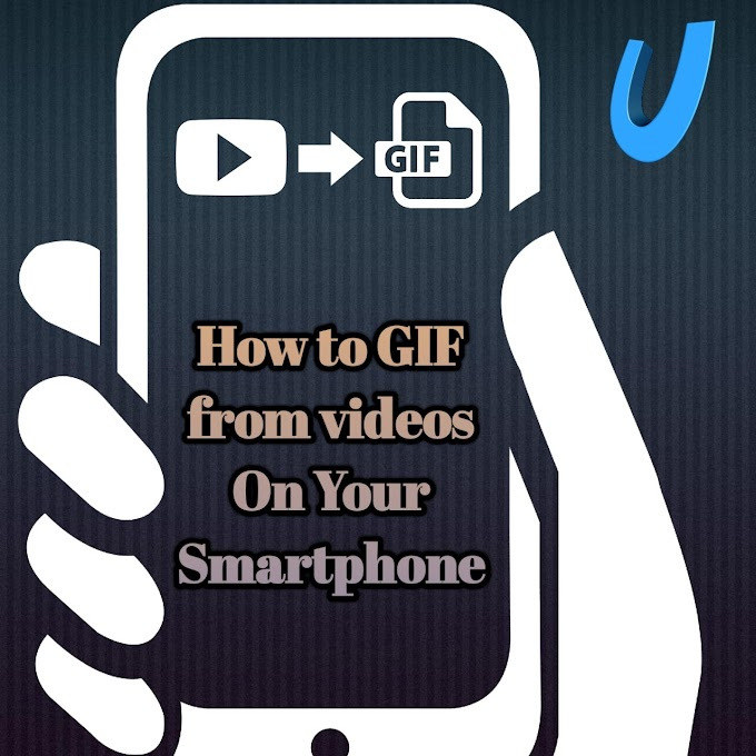 How to make gif from video on your android phone | विडियो से GIF बानाऐ फोन से।