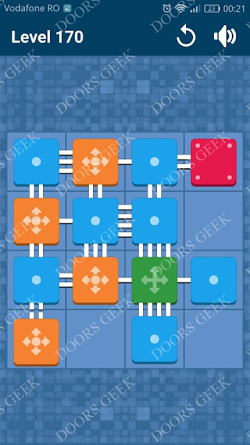 Connect Me - Logic Puzzle Level 170 Solution, Cheats, Walkthrough for android, iphone, ipad and ipod