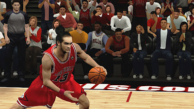 NBA 2K13 Joakim Noah Face & Hair Update 2K Mods