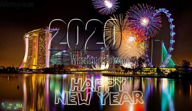 New Year 2020 HD Pics With Fireworks  Download For Facebook Whatsapp DP