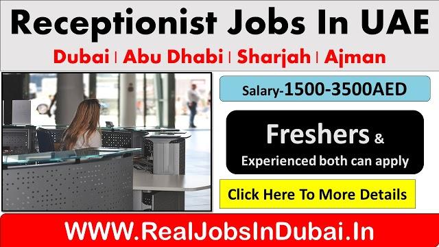 Receptionist Jobs In UAE - Dubai 2020