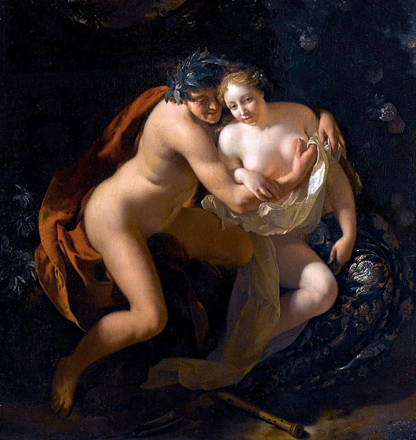 Adriaen van der Werff - Paride e Enone - sex paintings