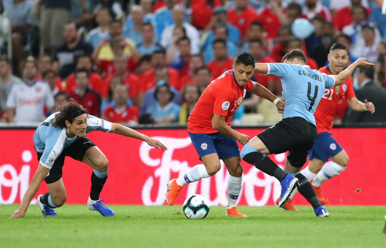Chile y Uruguay en Copa América 2019, 24 de junio