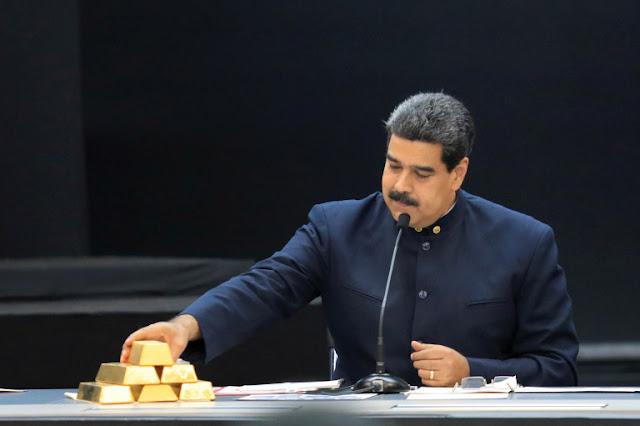 Bloomberg: En medio de sanciones, Maduro vende 400 millones dólares en oro