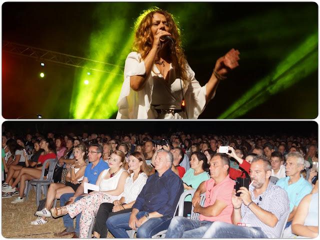 Γιάννενα: Πλήθος κόσμου στη συναυλία της Ελένης Τσαλιγοπούλου υπό της φως της Πανσελήνου στον αρχαιολογικό χώρο Πασσαρώνας