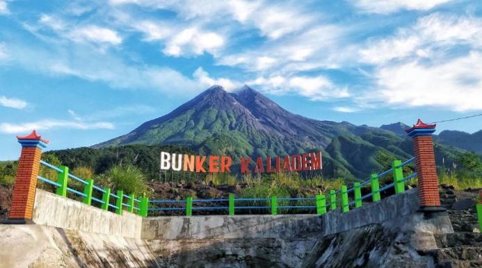 gunung merapi fotografi dan indah