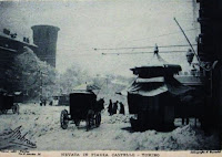 Nevicata a Torino