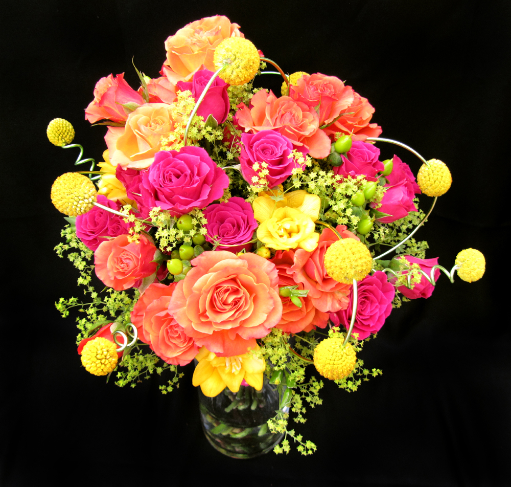 Wedding Flowers Yellow Roses: Dodge The Florist: Wedding Flowers: Five Unique Looks From