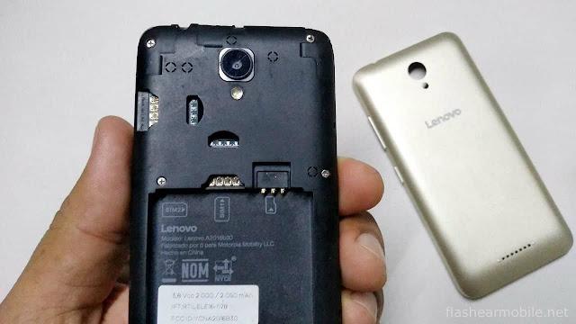 Flashear, cargar firmware de fábrica Lenovo Vibe B (A2016B30) paso a paso