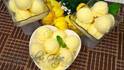 Domowe lody z mango