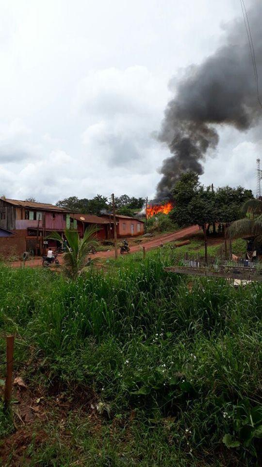 Medicilândia: Casa é destruída em incêndio